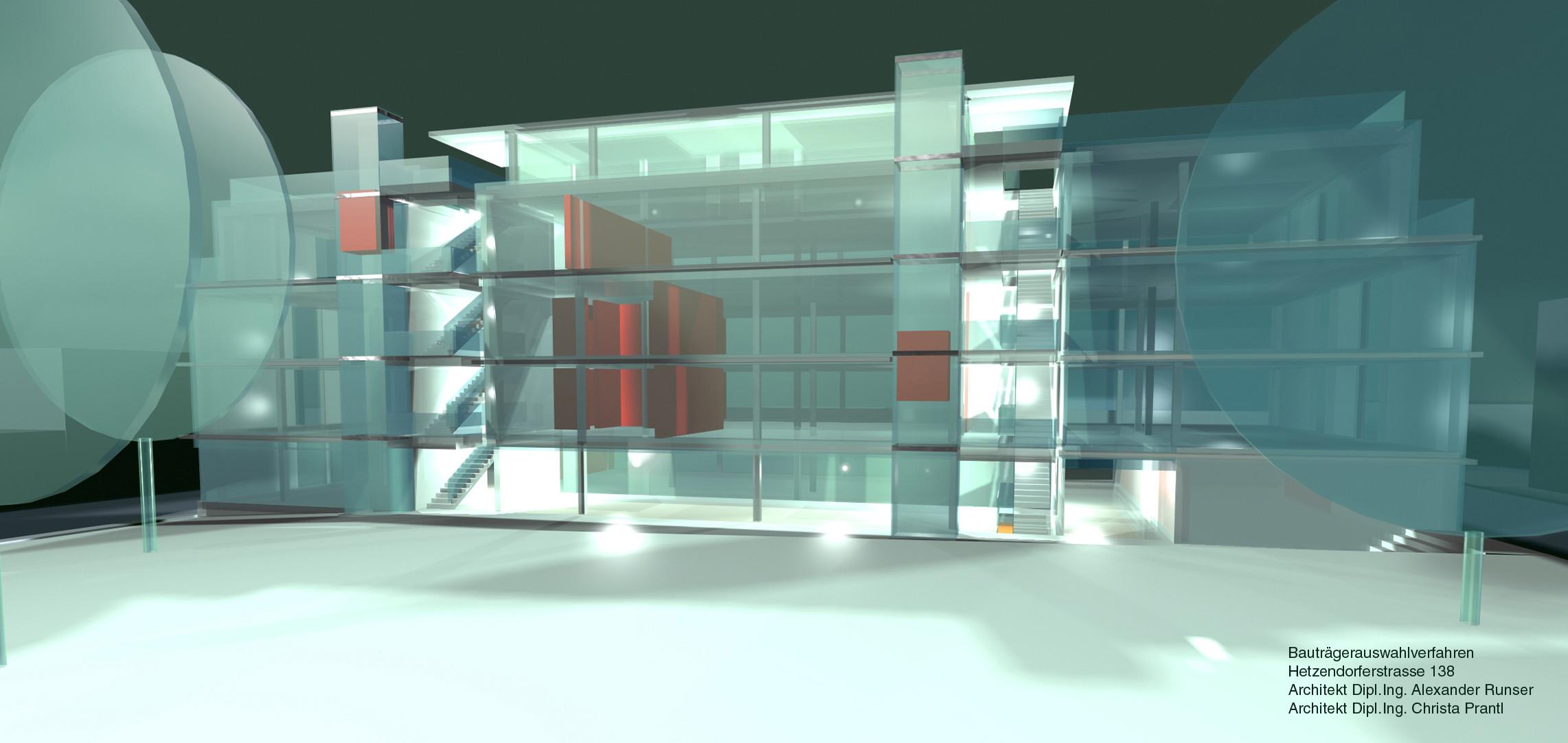 <p>© RUNSER / PRANTL architekten, SOS Kinderdorf Hetzendorferstraße, 1120 Wien, Österreich, Bauträgerauswahlverfahren, 2001,  Wohnhaus, Kinderdorf, Betreutes Wohnen</p>