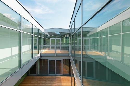 <p>© RUNSER / PRANTL architekten, Niedrigstenergie Wohnhaus für Menschen mit Behinderungen, 3204 Kirchberg/Pielach, Niederösterreich, Österreich, 2013, Wohnhaus, Betreutes Wohnen, Fotograf Rupert Steiner</p>