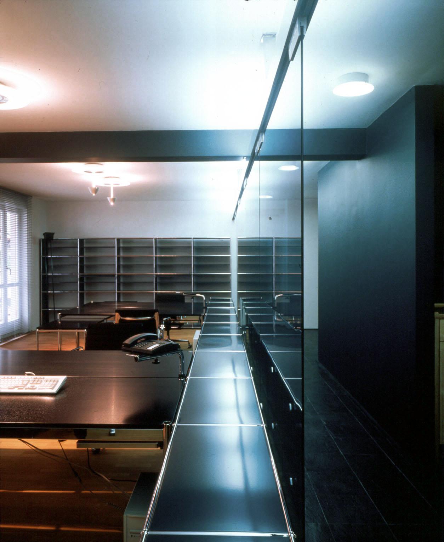 <p>© RUNSER / PRANTL architekten, Rechtsanwaltskanzlei, 3040 Neulengbach, Niederösterreich, Österreich, 1996, Rechtsanwaltskanzlei, Büro, Fotograf Margherita Spiluttini</p>