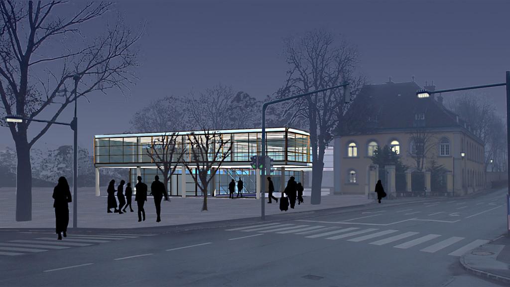<p>© RUNSER / PRANTL architekten, Maria Enzersdorf Neues Rathaus, 2344 Maria Enzersdorf, Niederösterreich, Österreich, 2002, Rathaus</p>